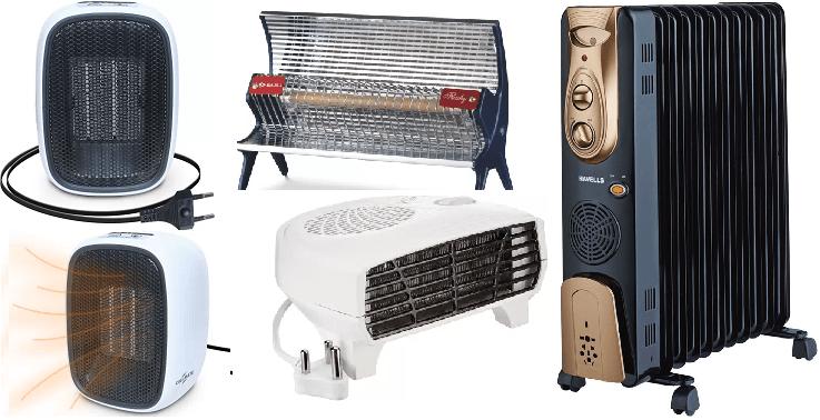 Types of heater